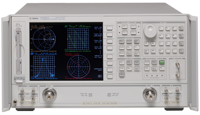 HP / Agilent 8720ES is a featured product}
