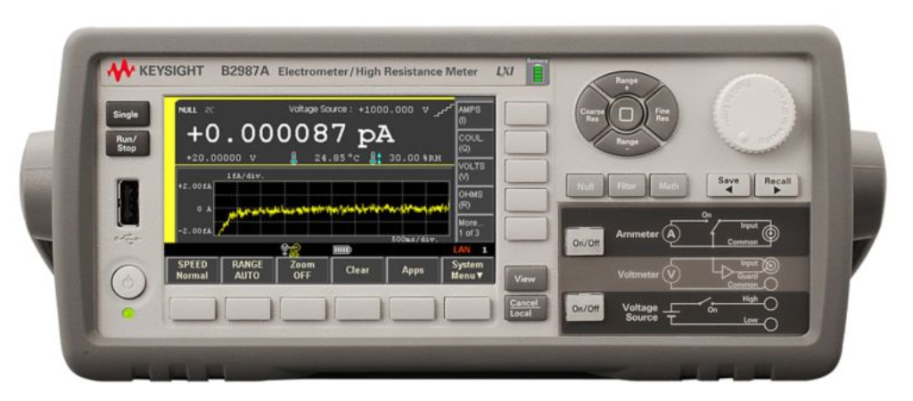Agilent / Keysight B2987A is a featured product}