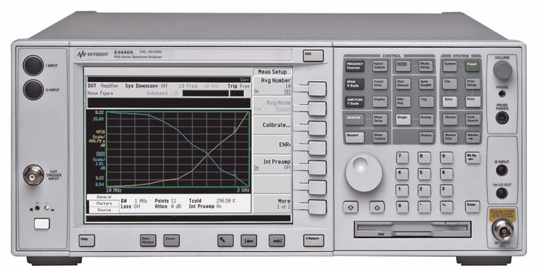 Agilent / Keysight E4440A is a featured product}