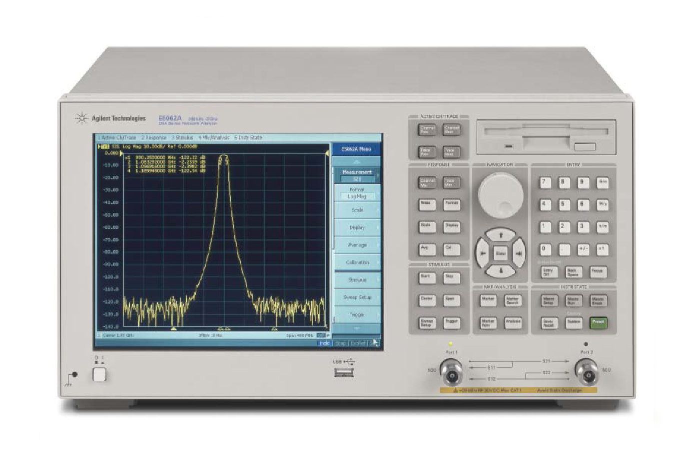 HP / Agilent E5061A is a featured product}