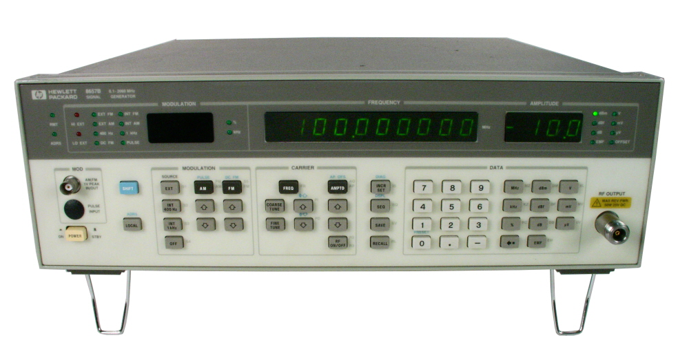 HP / Agilent 8657B just arrived