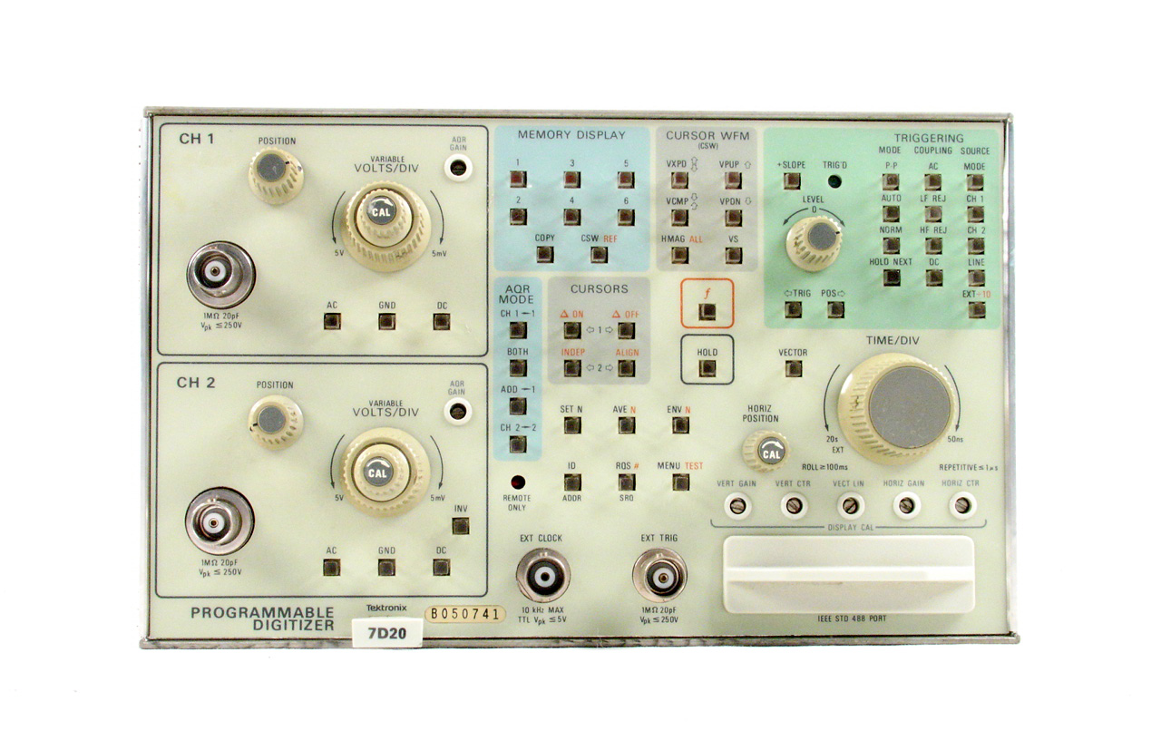 Tektronix 7D20 for sale