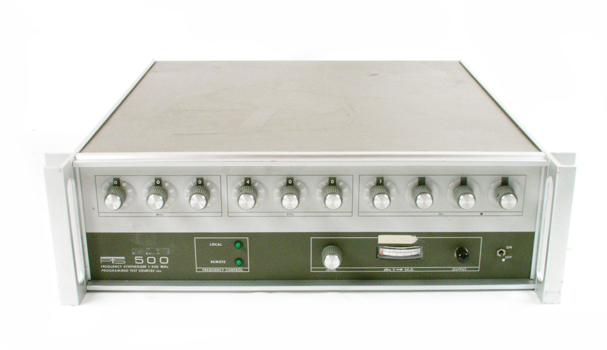 Programmed Test Sources PTS 500 BCD for sale