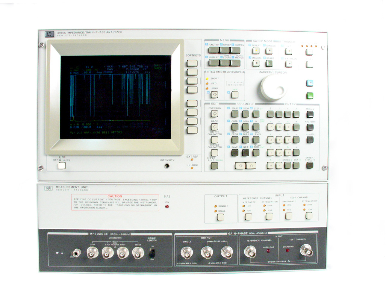 HP / Agilent 4194A just arrived