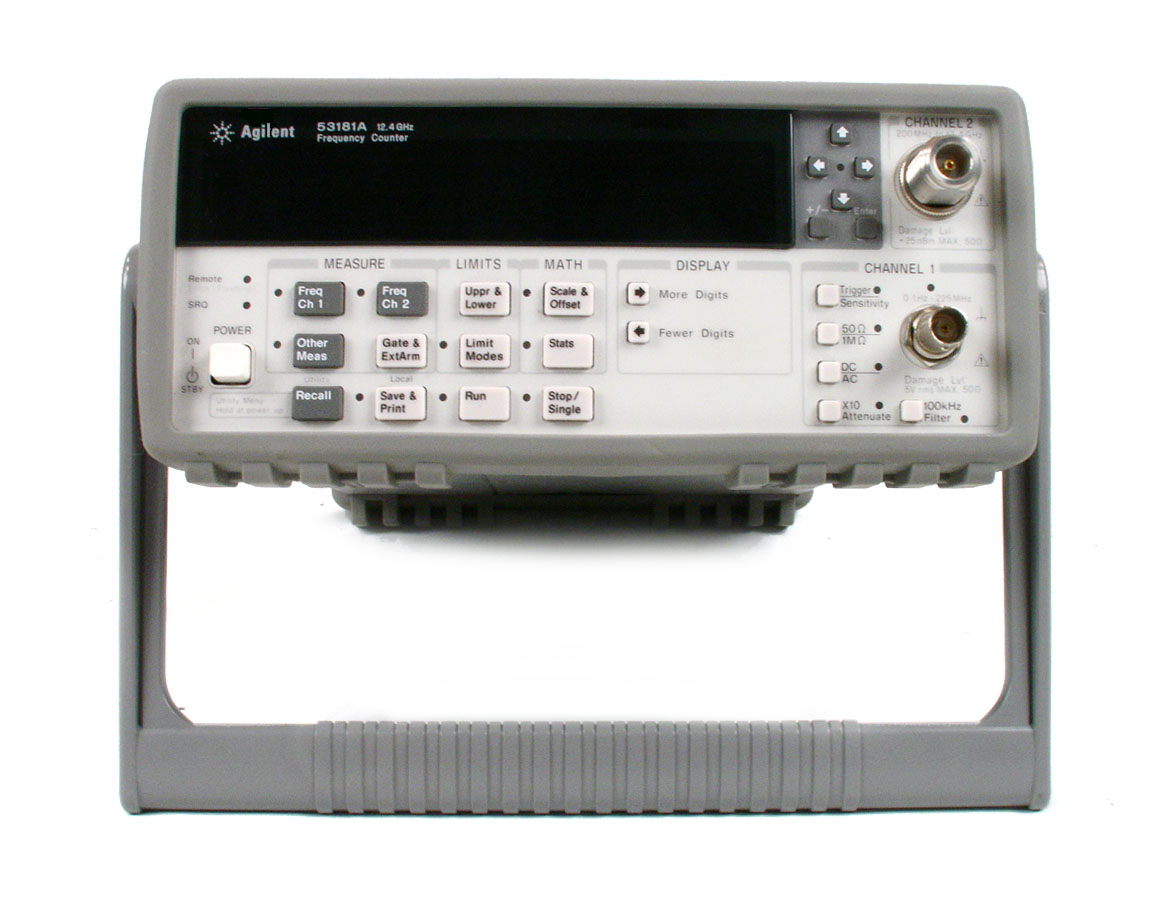 Agilent / Keysight 53181A just arrived