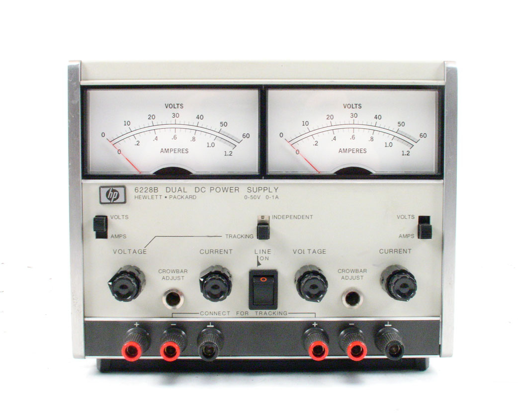 Used Power Supplies Dc Products For Sale Accusource Electronics Supply 0 15v 1a Agilent Hp 6228b 50v Dual