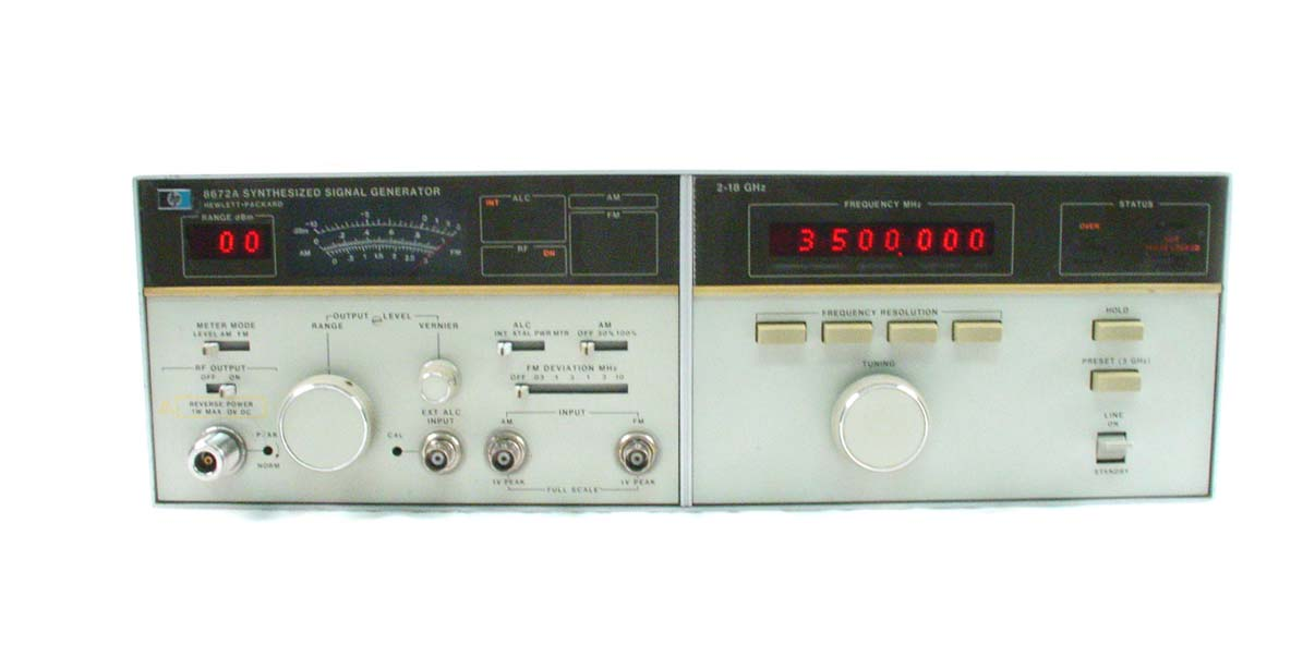 Agilent / HP 8672A for sale