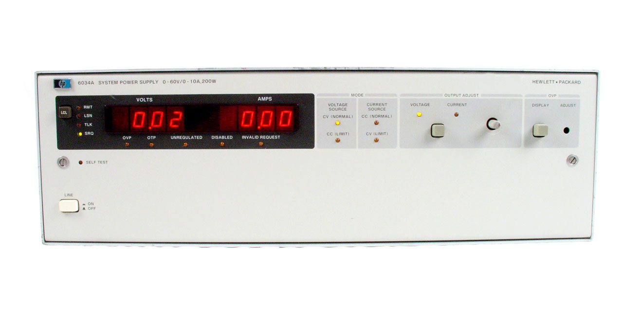 Agilent / HP 6034A for sale