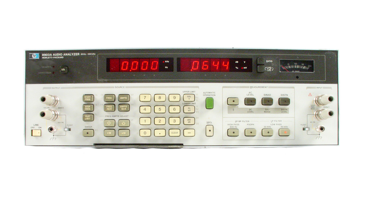 Agilent / HP 8903A for sale