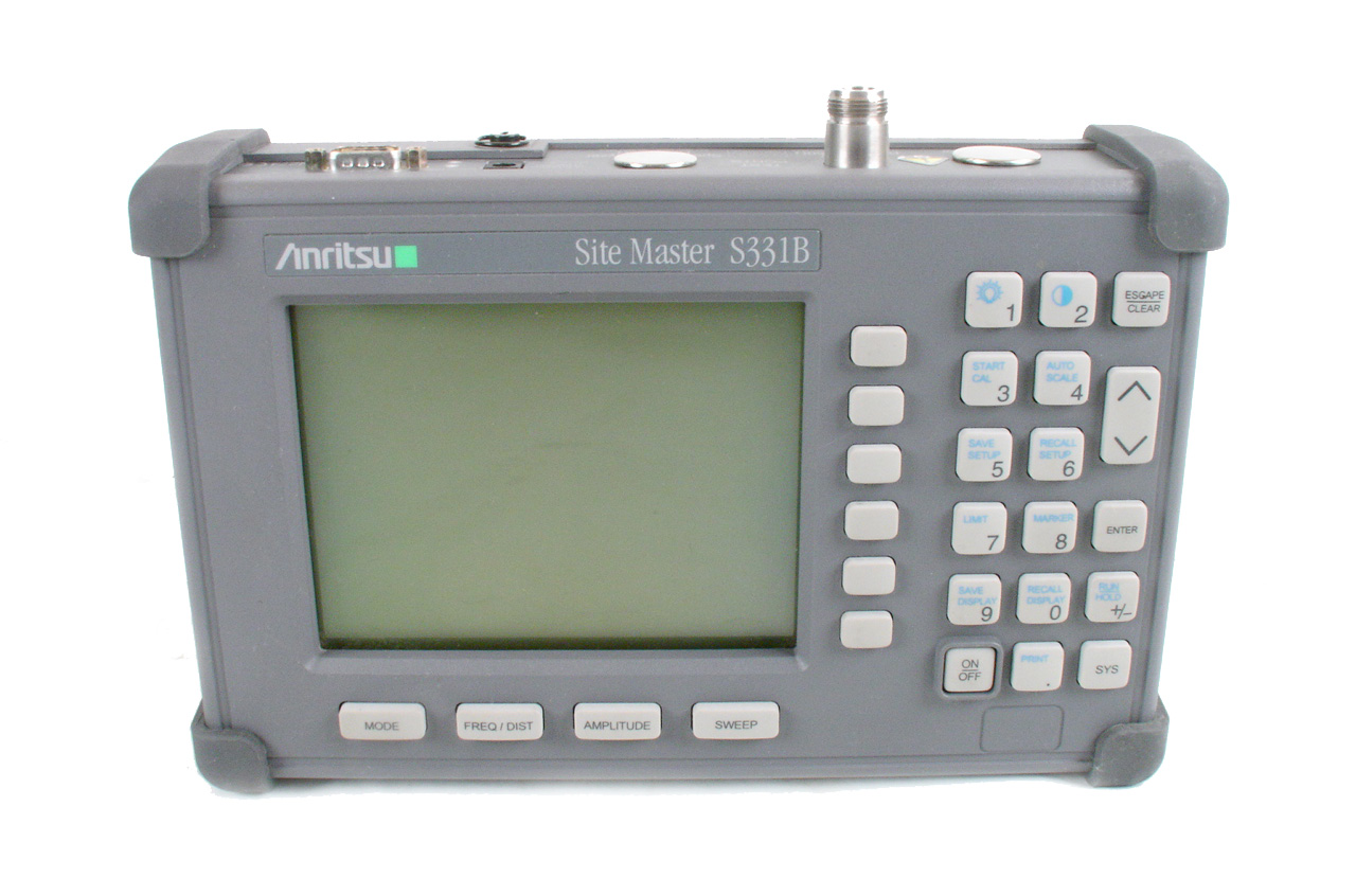 Anritsu S331B just arrived