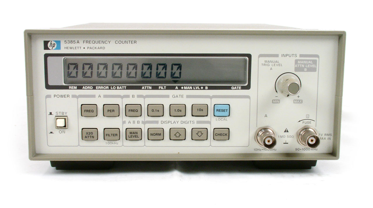 Agilent / HP 5385A just arrived