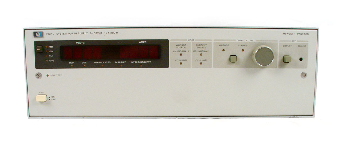 Agilent / HP 6034L for sale