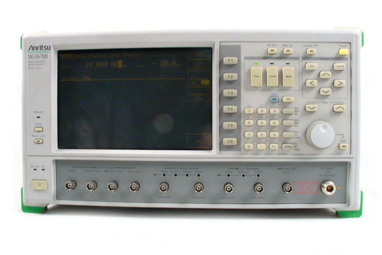 Anritsu MG3670B for sale
