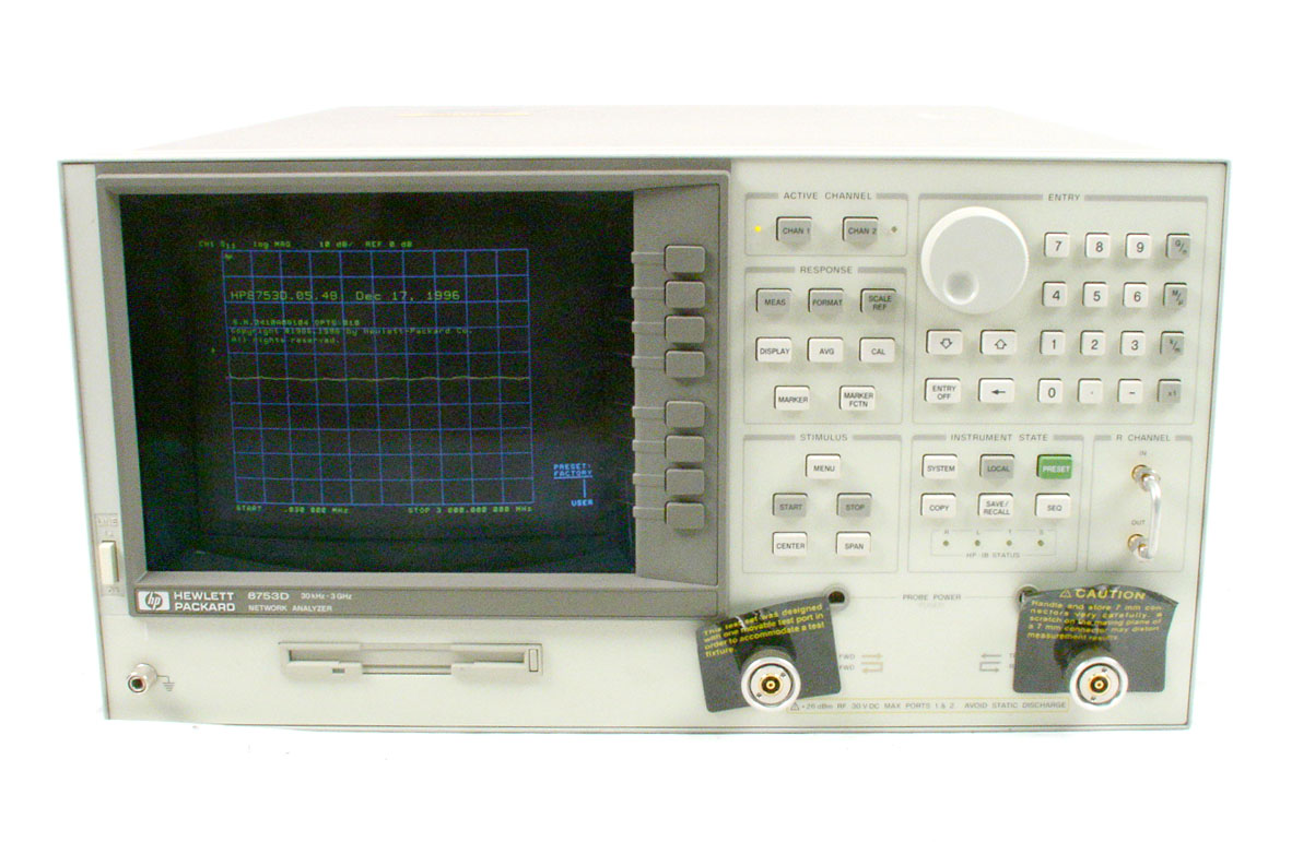 Network Analyzer And Harmonic : Agilent hp d for sale  accusource