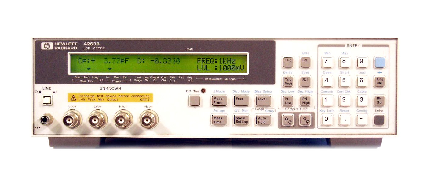 HP / Agilent 4263B just arrived