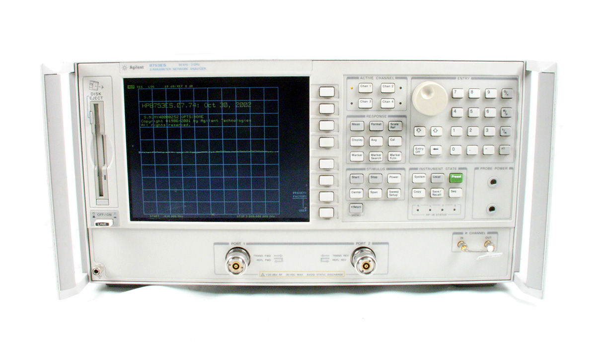 HP / Agilent 8753ES just arrived