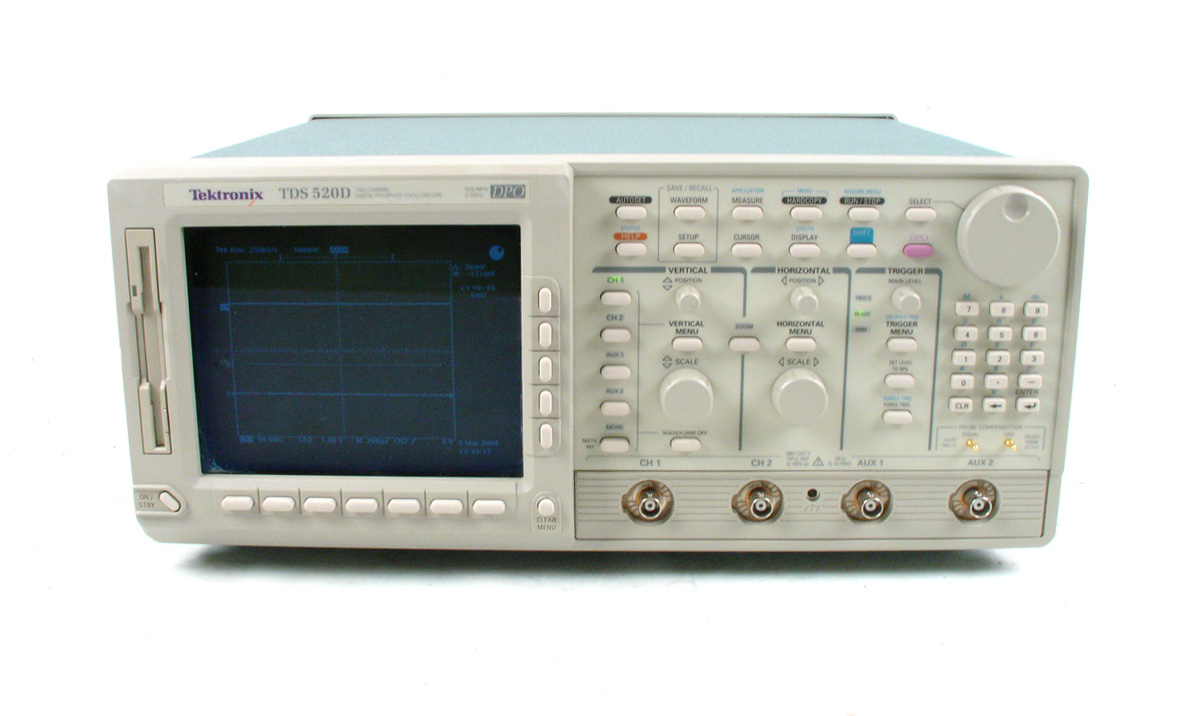 Tektronix TDS520D for sale