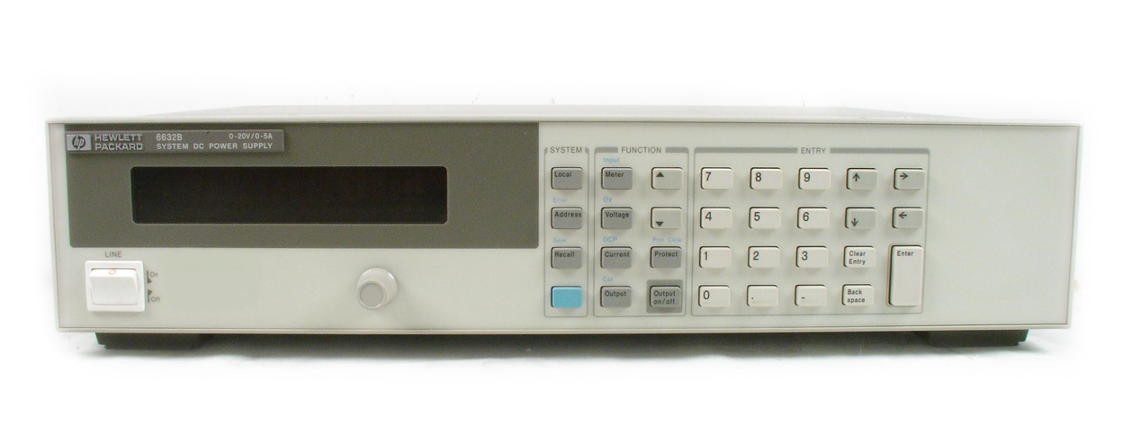 HP / Agilent 6632B just arrived