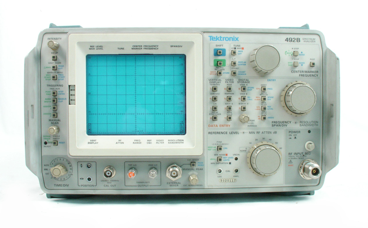 Tektronix 492B for sale