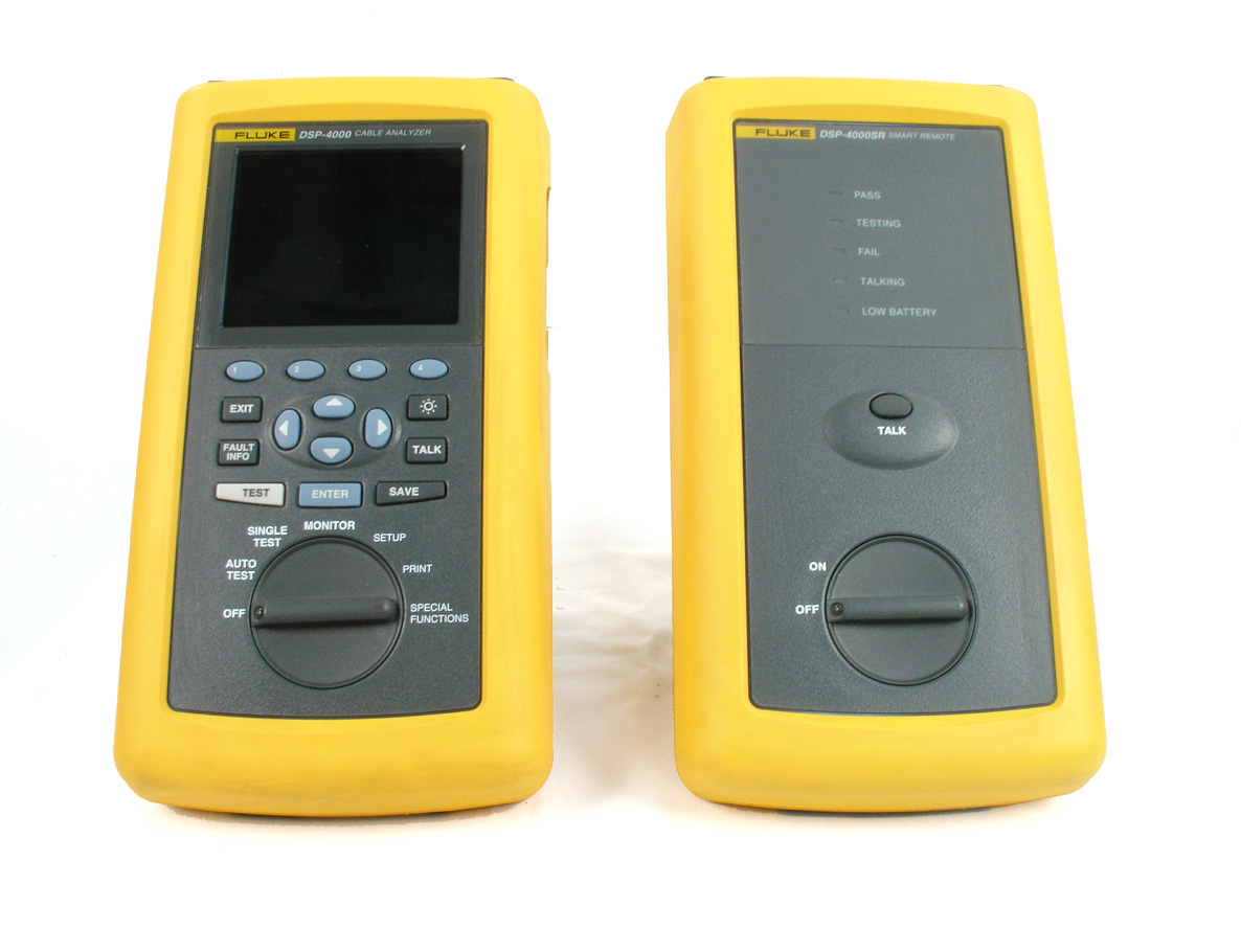 Fluke DSP-4000 for sale