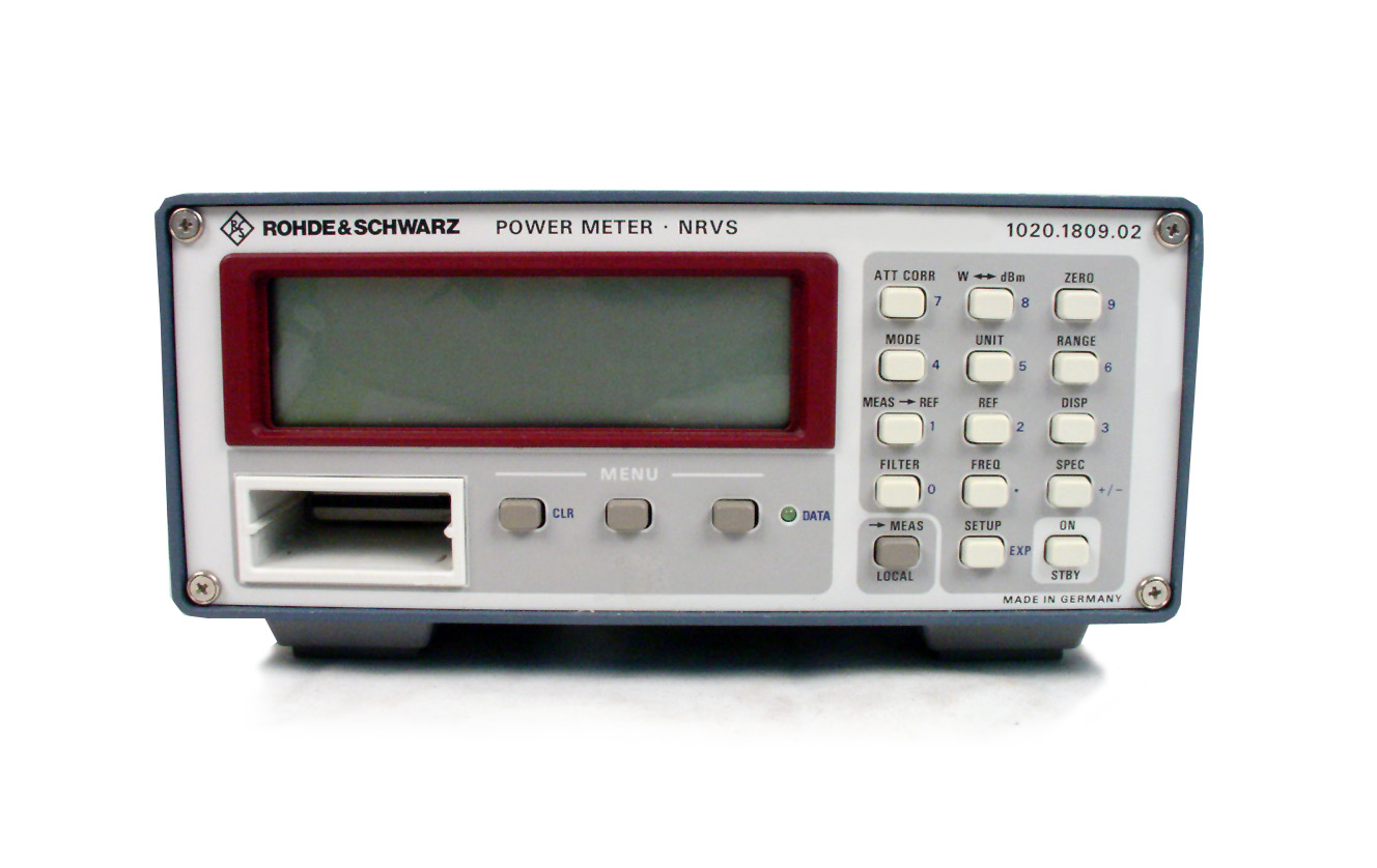 Rohde & Schwarz NRVS for sale