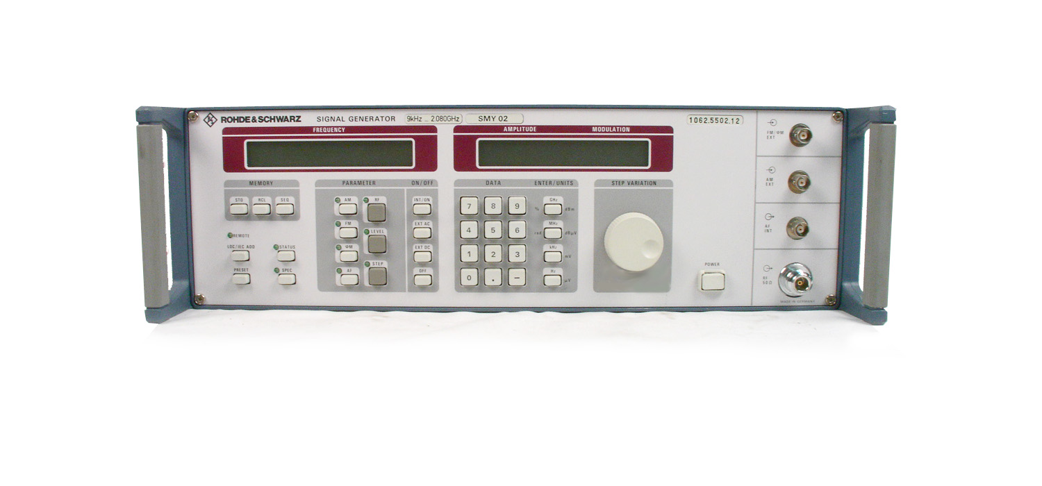 Rohde & Schwarz SMY02 for sale