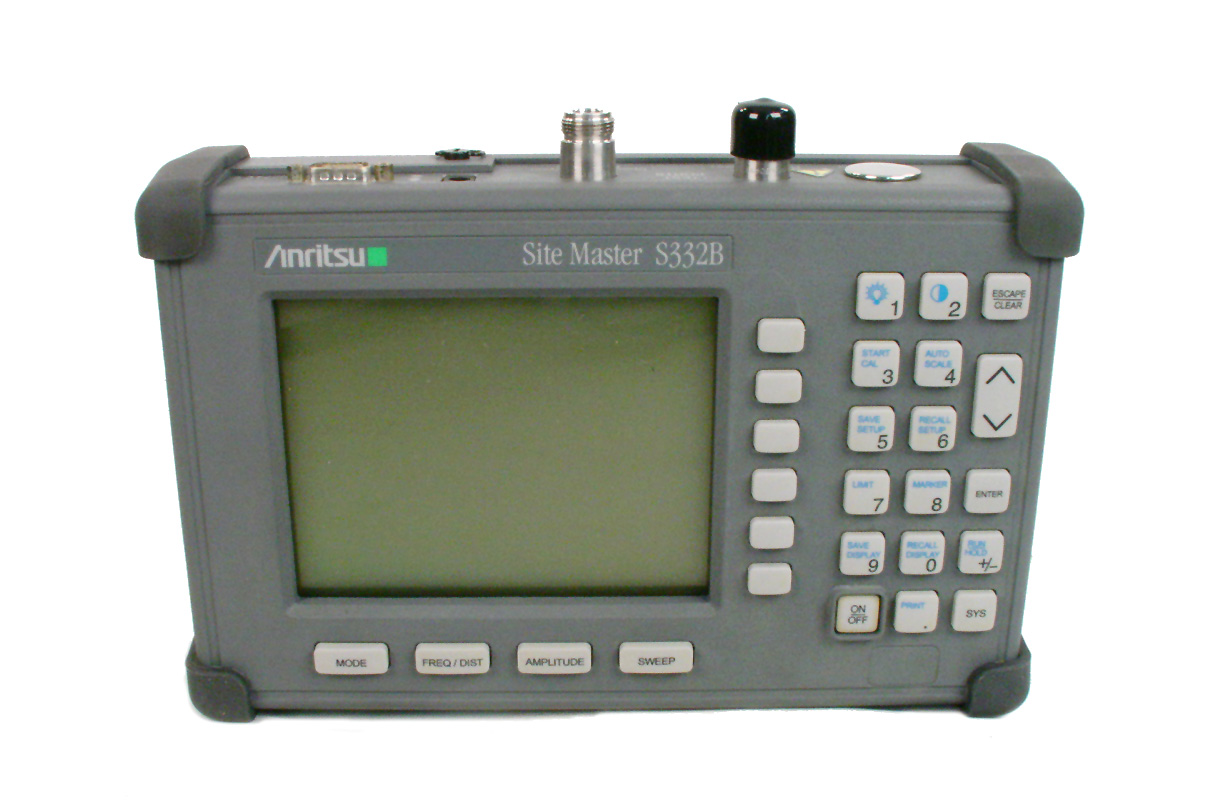 Anritsu S332B just arrived