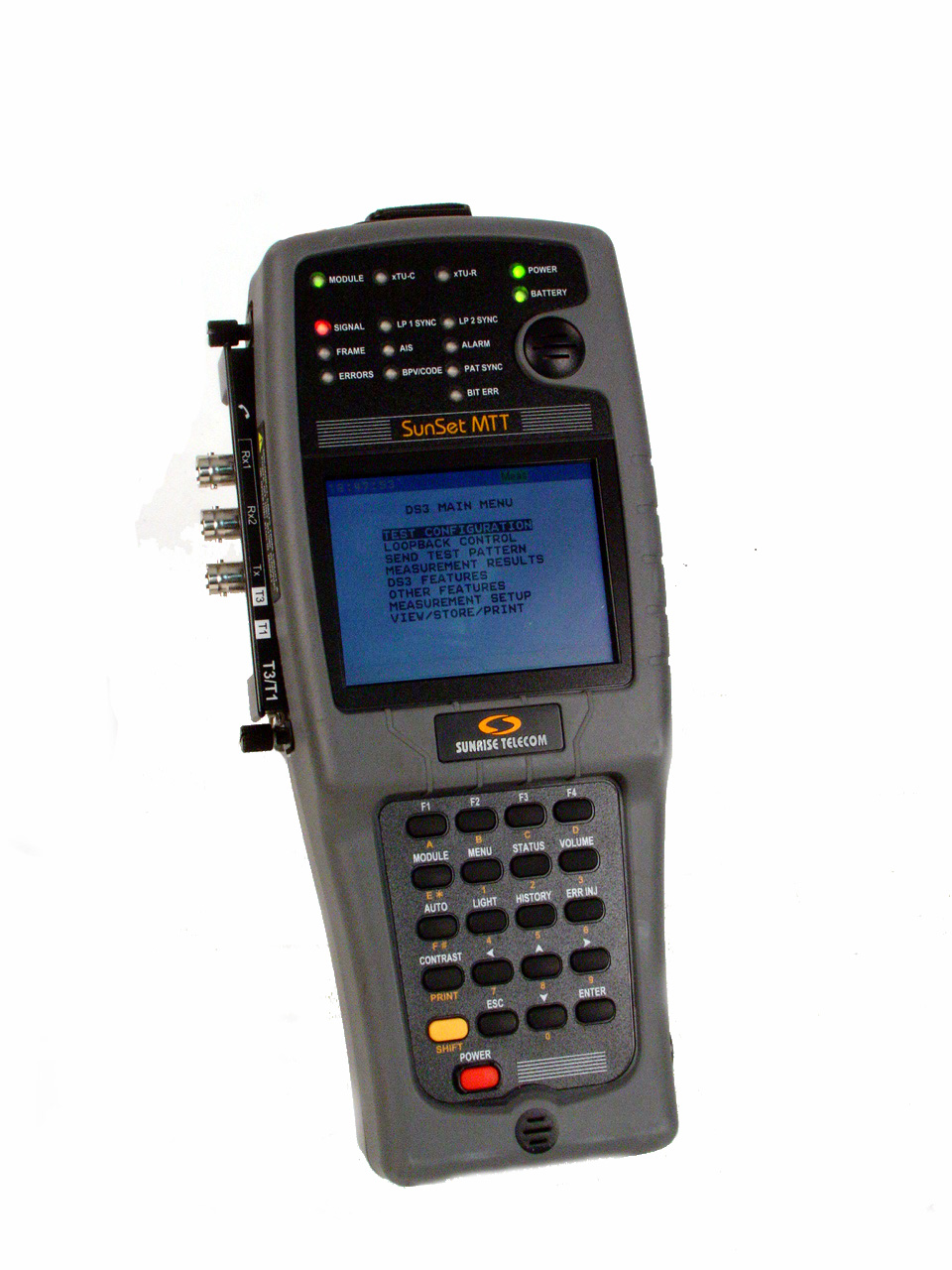 Sunrise Telecom MTT with SSMTT-24 just arrived