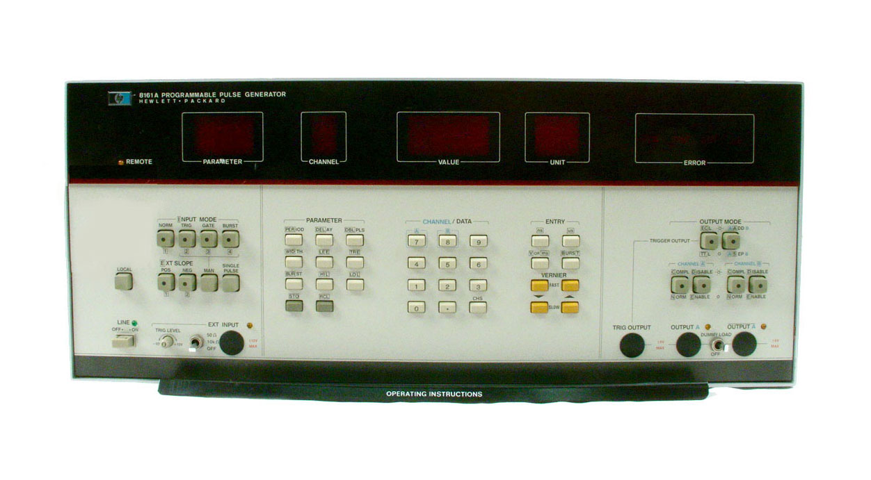 HP / Agilent 8161A for sale