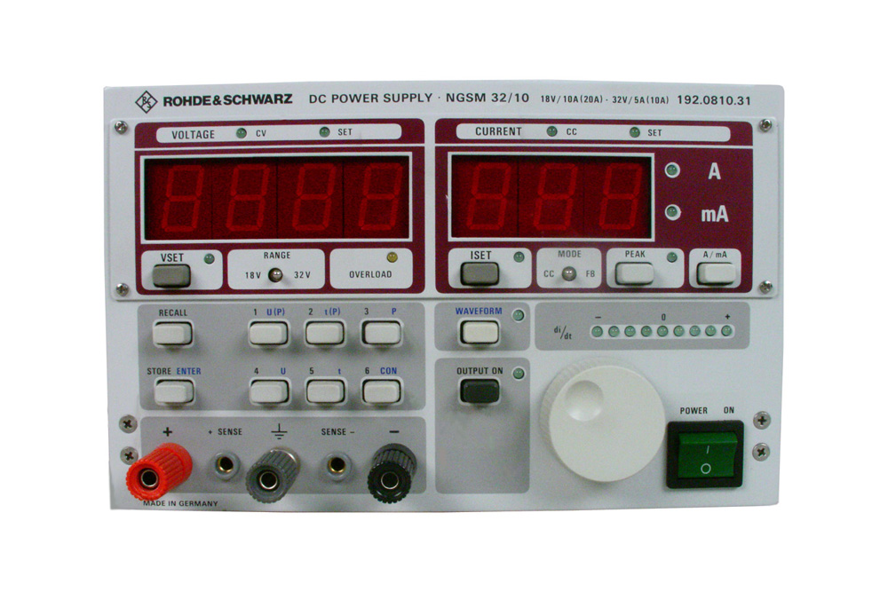 Rohde & Schwarz NGSM 32/10 for sale