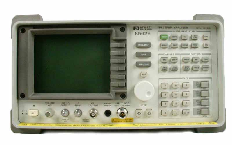 HP / Agilent 8562E just arrived
