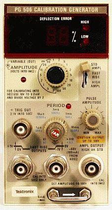 Tektronix Pg 506 For Sale 565 00 Accusource Electronics