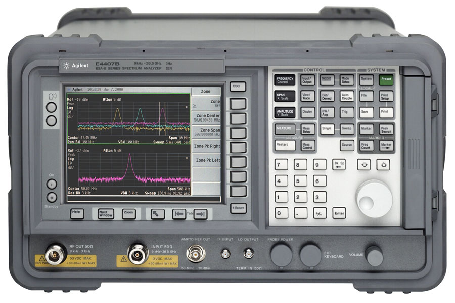 Agilent / Keysight E4407B just arrived