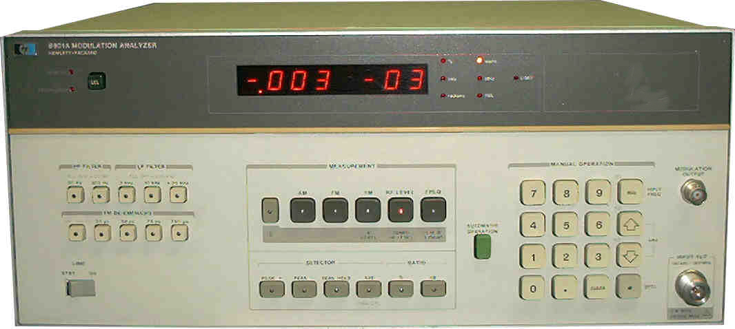 HP / Agilent 8901A for sale