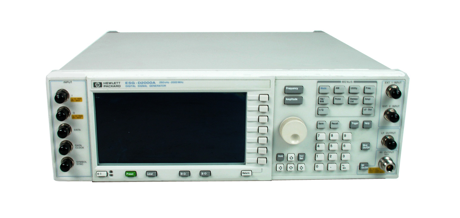 HP / Agilent E4431B just arrived