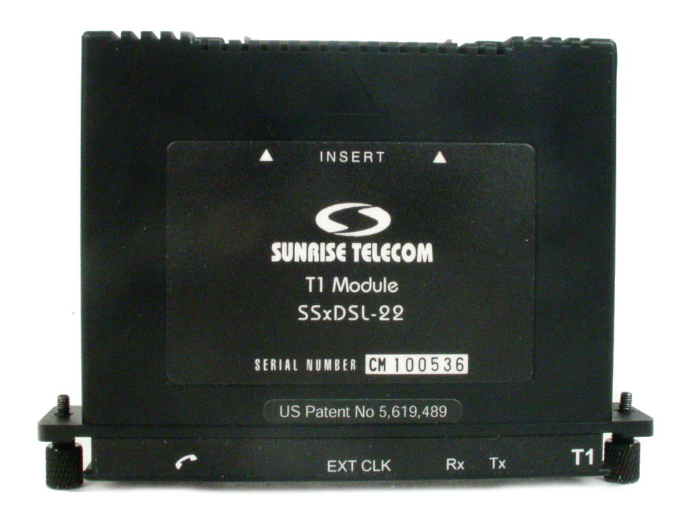 Sunrise Telecom SSxDSL-22 for sale