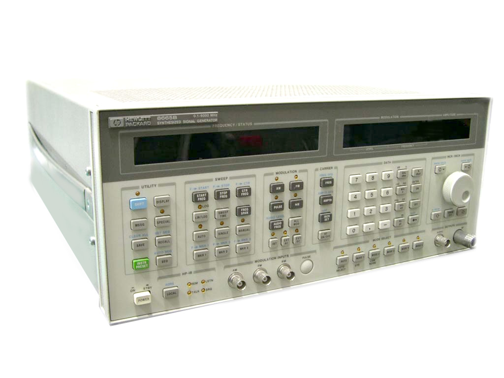 Agilent / HP 8643A just arrived