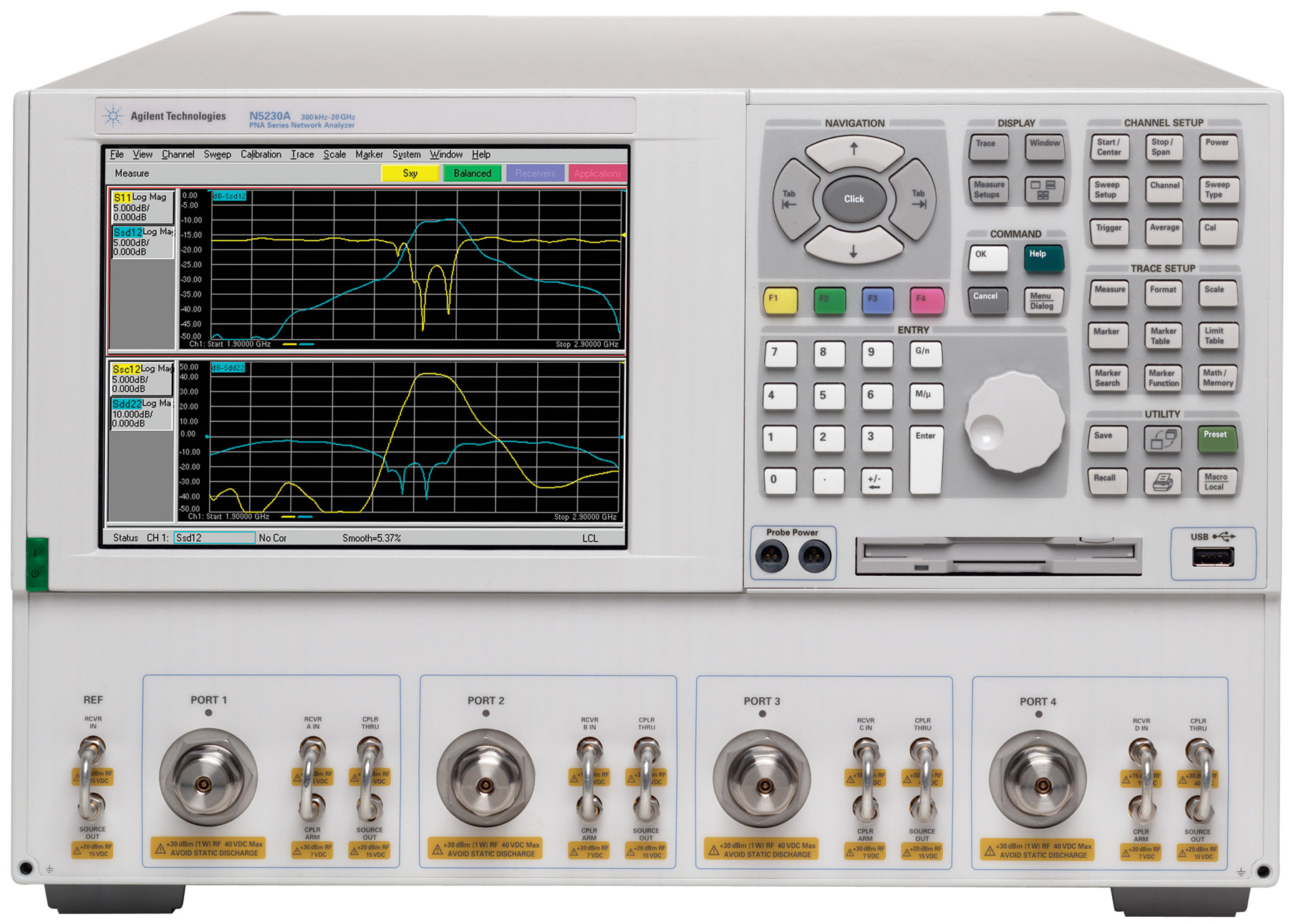 Agilent Network Analyzer : Used analyzers network products for sale accusource
