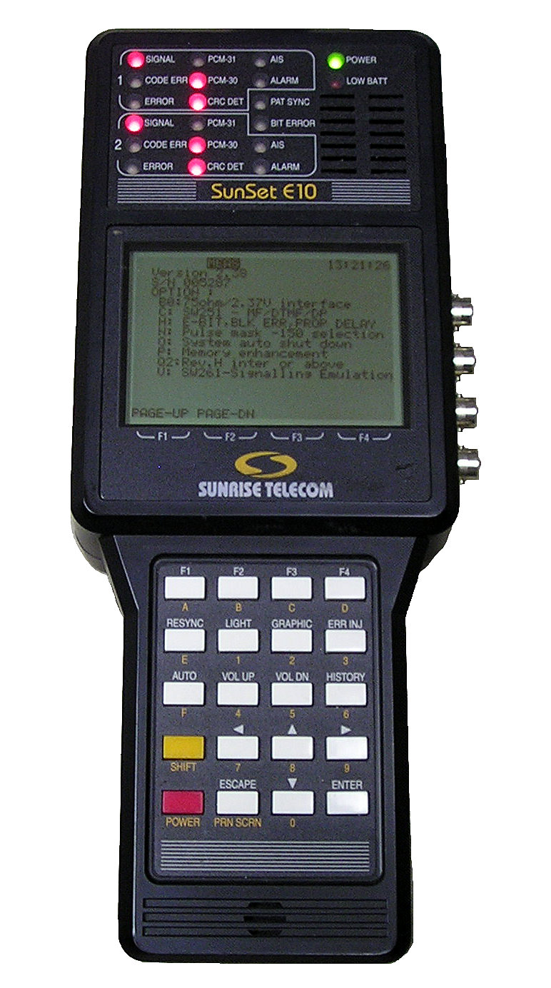 Sunrise Telecom Sunset E10 for sale