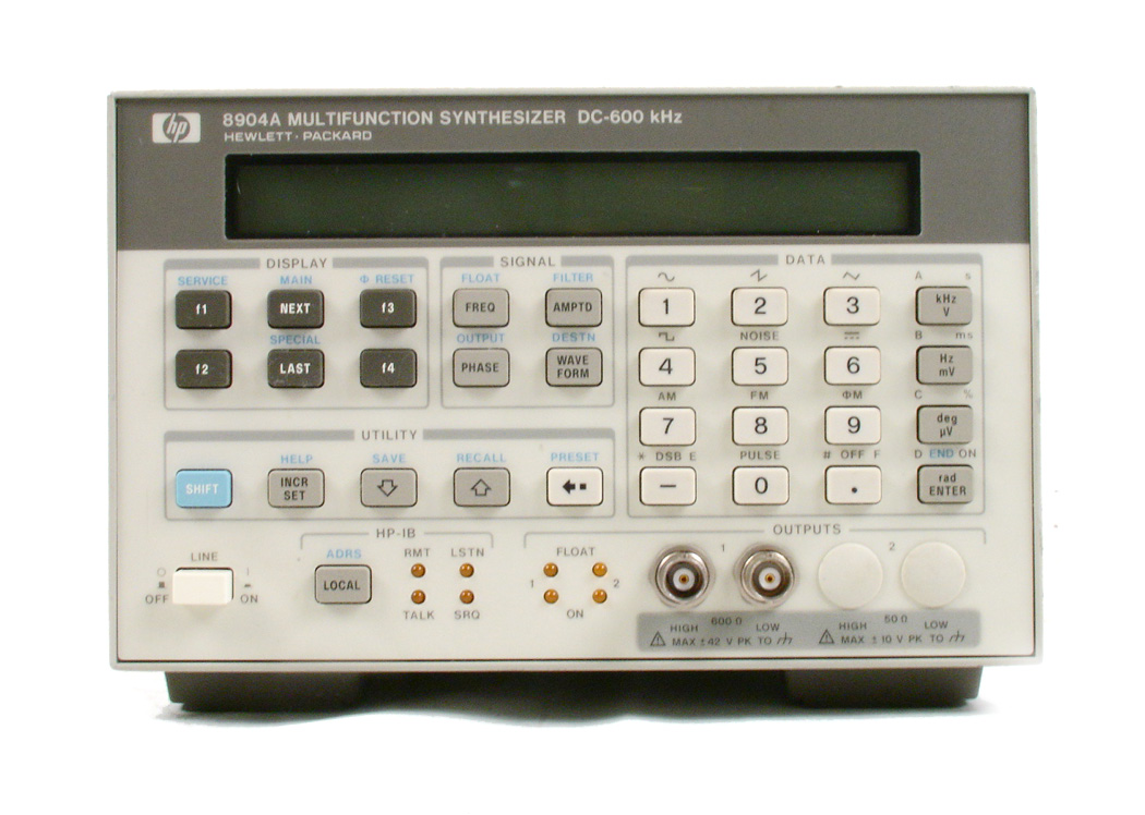 HP / Agilent 8904A for sale