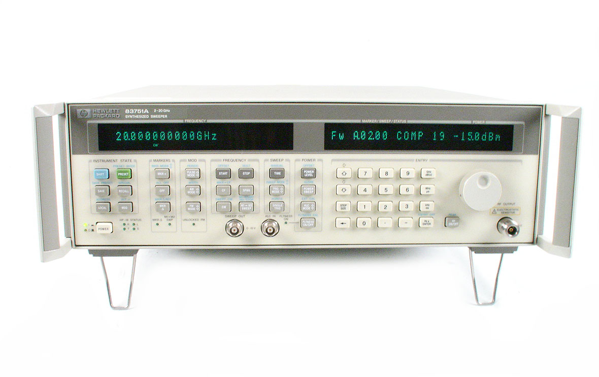 HP / Agilent 83752A just arrived