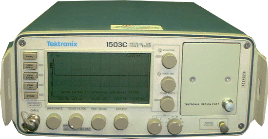 Similar product is Tektronix 1503C