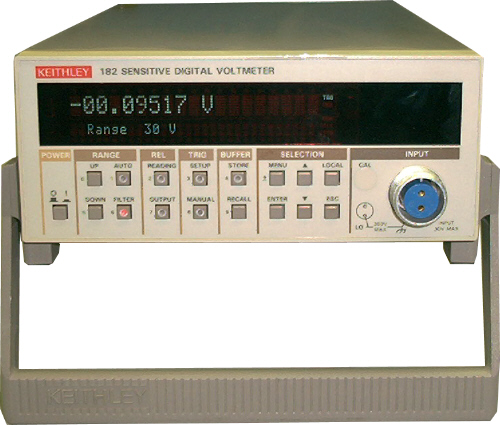 Keithley 182 just arrived