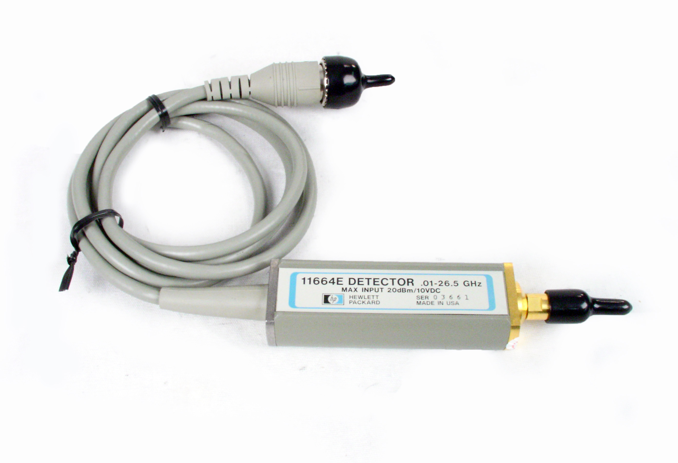 Agilent HP 85025A 0.01-18Ghz Coaxial Detector scalar Analyzer HP 8757D