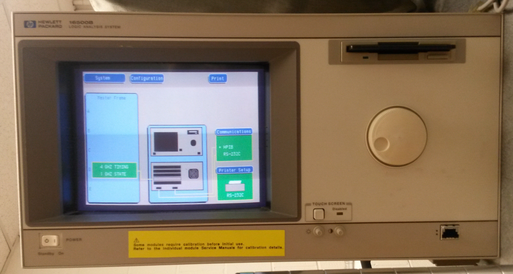 Agilent / HP 16500B with cards for sale