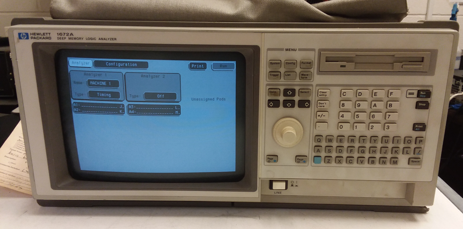 Agilent / HP 1672A for sale