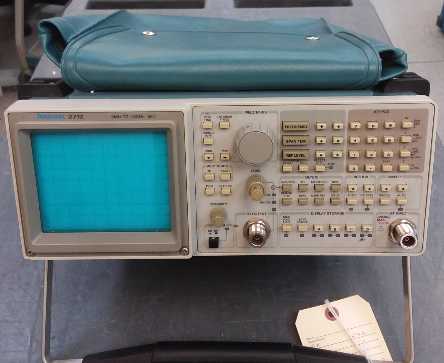 Tektronix 2712 just arrived