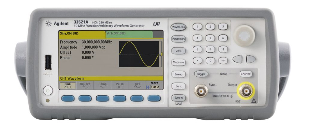 Similar product is HP / Agilent 33521A