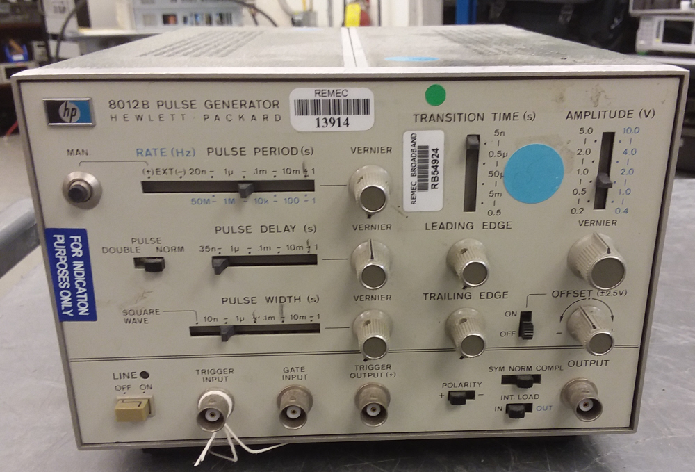 Agilent / HP 8012B just arrived