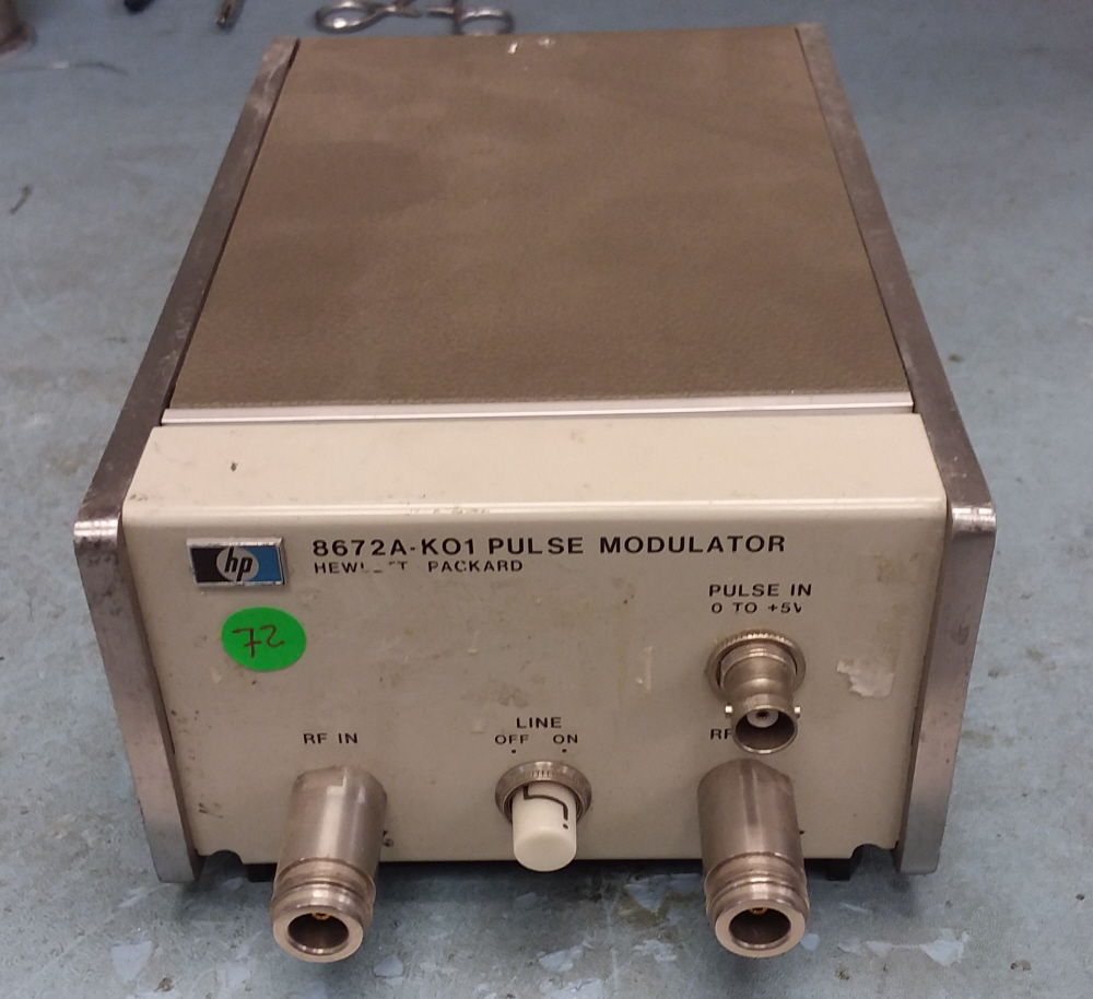 HP / Agilent 8672A-K01 for sale